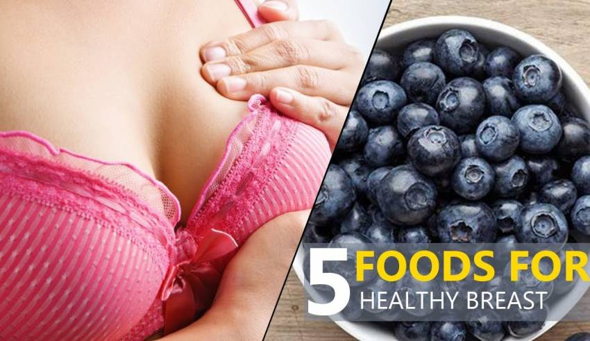5 Foods for Healthy Breast / Prevent Breast Cancer Foods