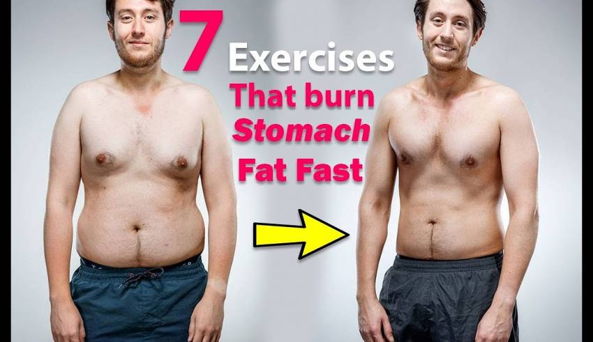 7 Exercises That Burn Stomach Fat Fast How To Lose Belly Fat