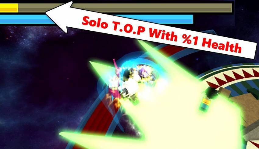 Solo T O P With %1 Health | DBZ Final Stand - HealingPlus