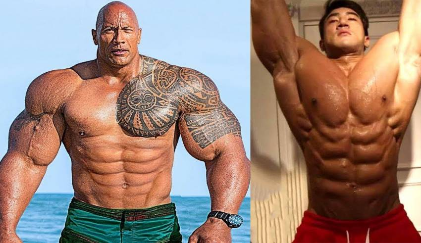 The Rock vs Chul Soon Body Transformation 2019 Who Is The Best