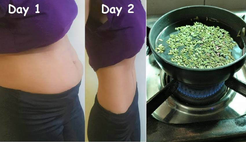 Drink Just 1 Glass To Lose Bloated Stomach Belly Fat Overnight