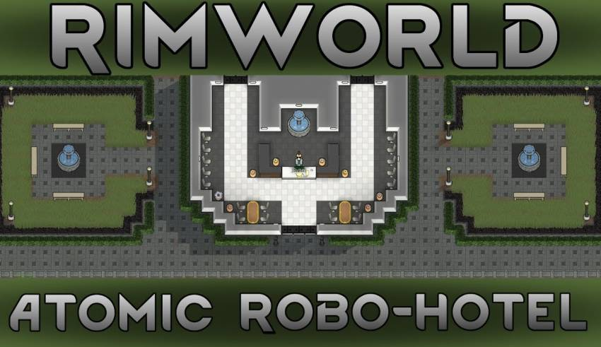 17] The Research Reactor | RimWorld 1 0 Atomic Robo-Hotel