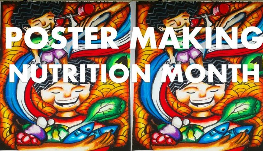 anything about arts 4 3k subscribers subscribe poster making nutrition month