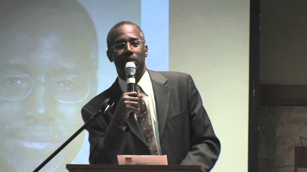 Dr. Ben Carson on Health Disparities and Health Care ...