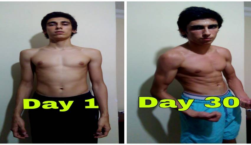 100 PUSH UPS A DAY FOR 30 DAYS CHALLENGE - Body