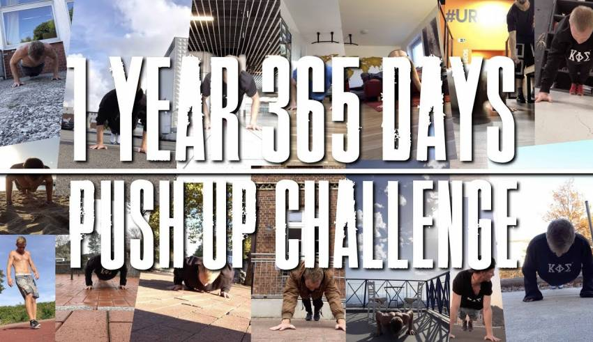 Could You? 100 Push Ups 1 Year every day - Body Transformation or